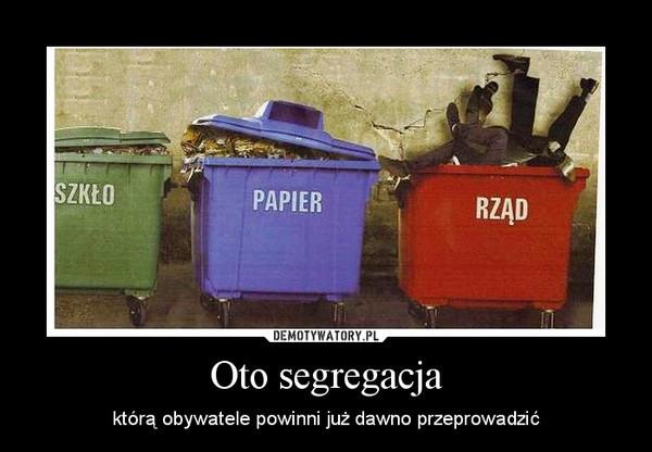 Internauci śmieją się z ustawy śmieciowej - Wiadomości