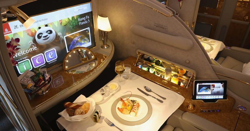 Oto jak wygląda luksus w pierwszej klasie linii Emirates
