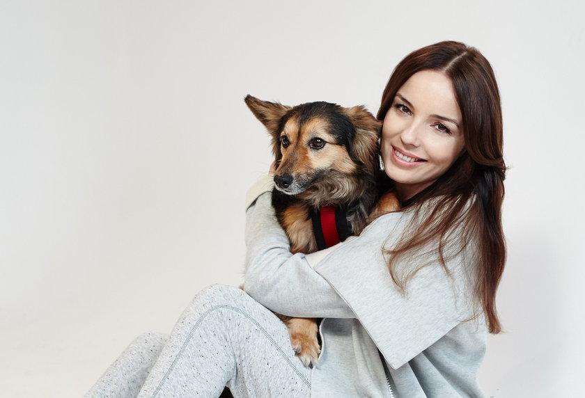 Agnieszka Włodarczyk adoptowała psa