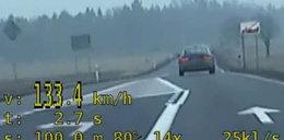 Pędził jak wariat 170 km/h