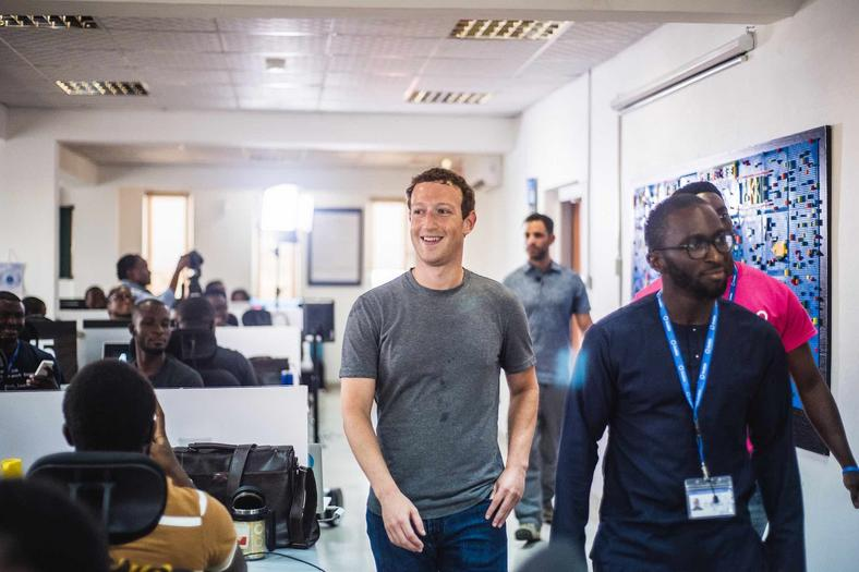 Zuckerberg made a visit to Andela Nigeria during his first visit to Africa.