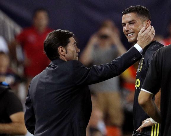 Trener Valensije Marselinjo teši Ronalda