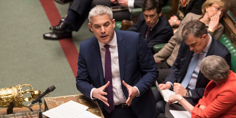 UK Parliament Steve Barclay