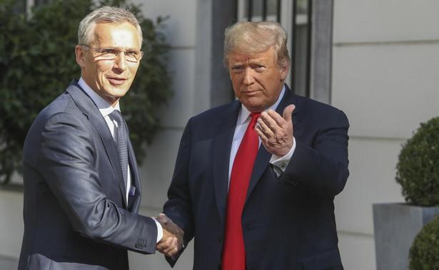Jens Stoltenberg i Donald Trump