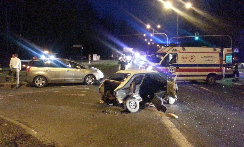 Katowice. Wypadek na trasie DK-86 w Giszowcu