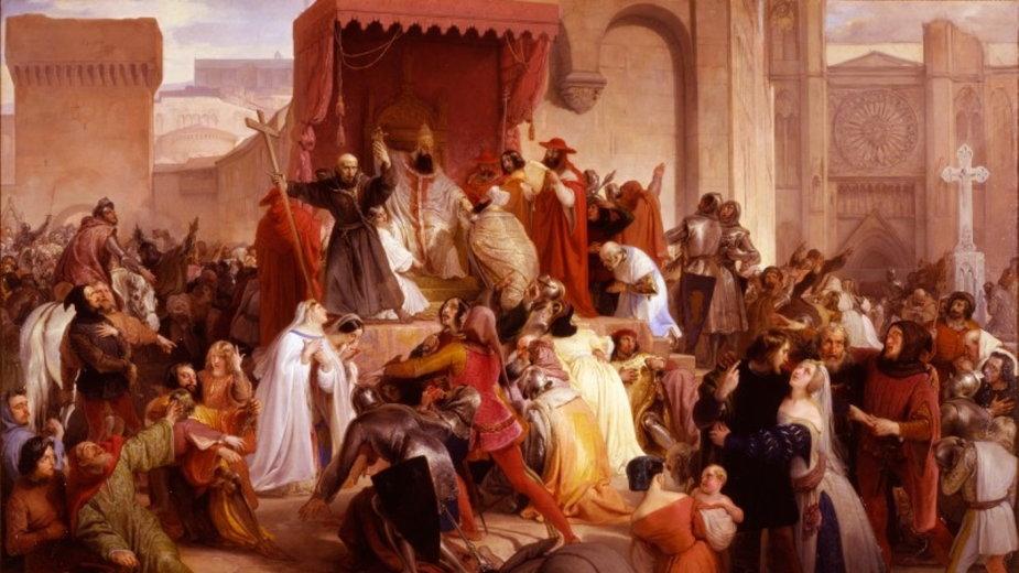 Papież Urban II wzywa w Clermont do zorganizowania krucjaty