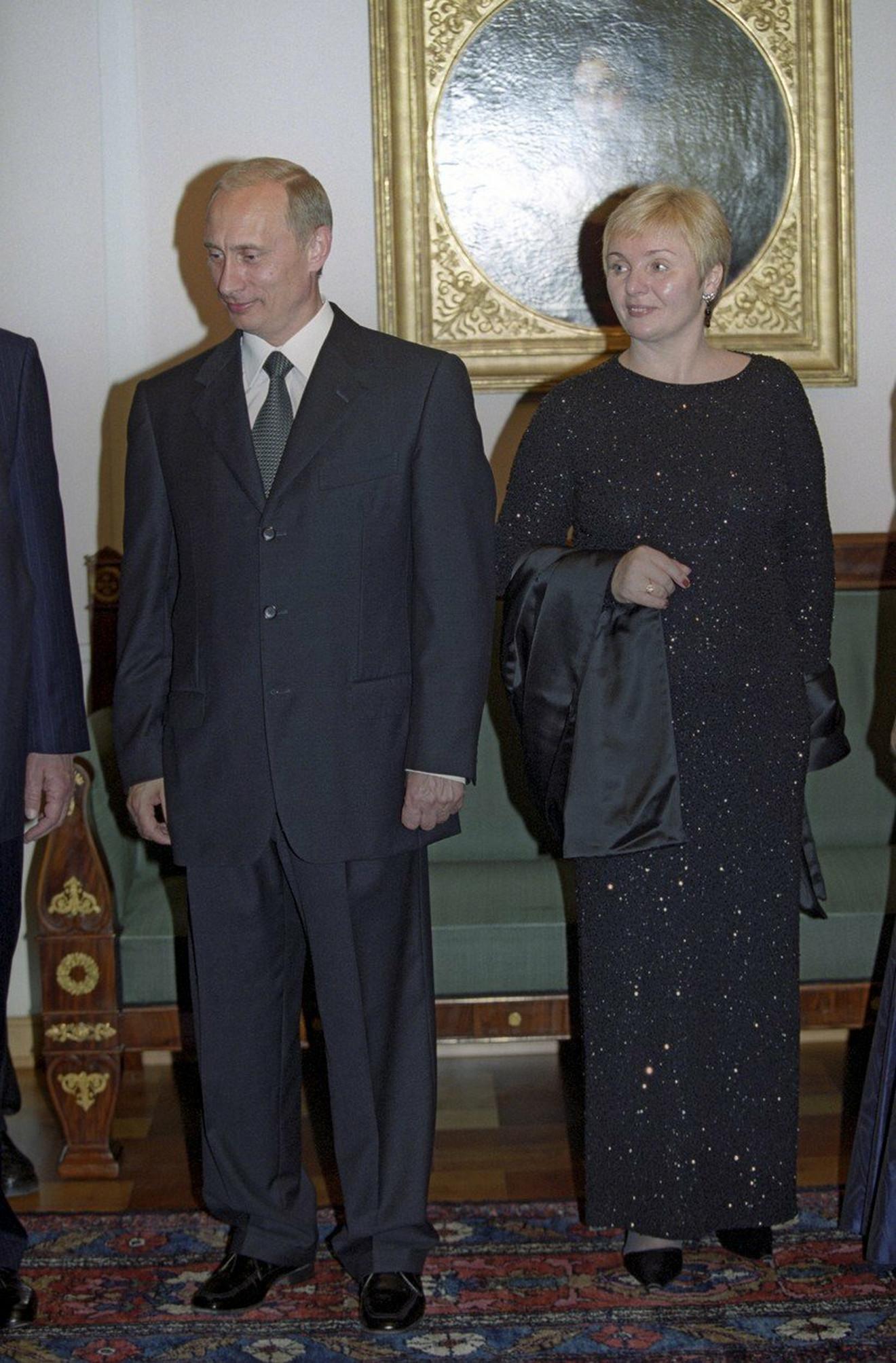 Putin sa suprugom Ljudmilom