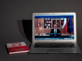 Prezydent Duda: Mam wrażenie, że niektórzy przedstawiciele mediów próbują wywoływać panikę, doprowadzić do zamknięcia gospodarki [WYWIAD RIGAMONTI]
