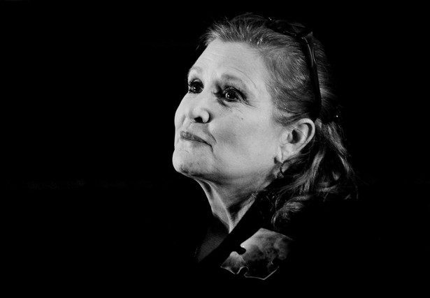 Carrie Fisher. Fot. Tracey Nearmy