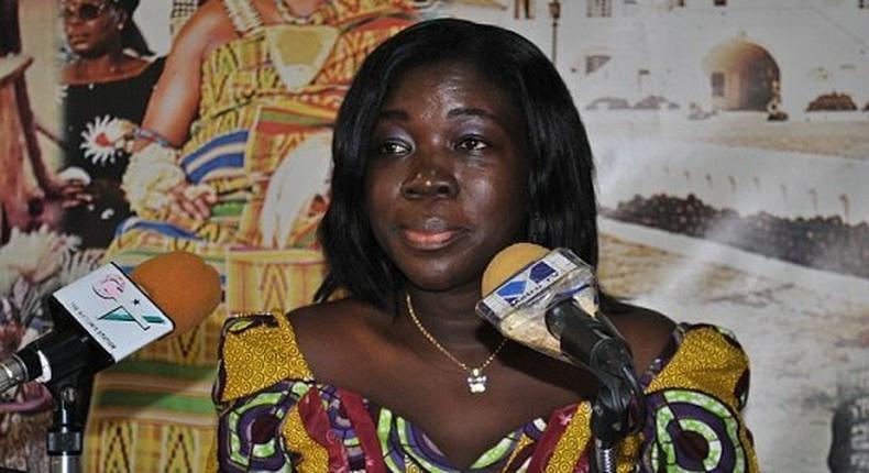 Minister for Tourism, Elizabeth Ofosu-Adjare