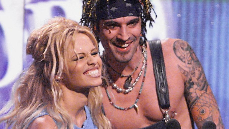 Pamela Anderson i Tommy Lee w 1999 r.