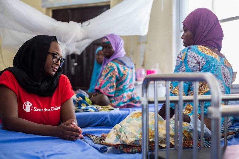 DJ Cuppy visits Maiduguri, seeks improved welfare and education for children [Save the Children]