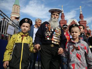 Victory Day parade in Moscow's Red Square