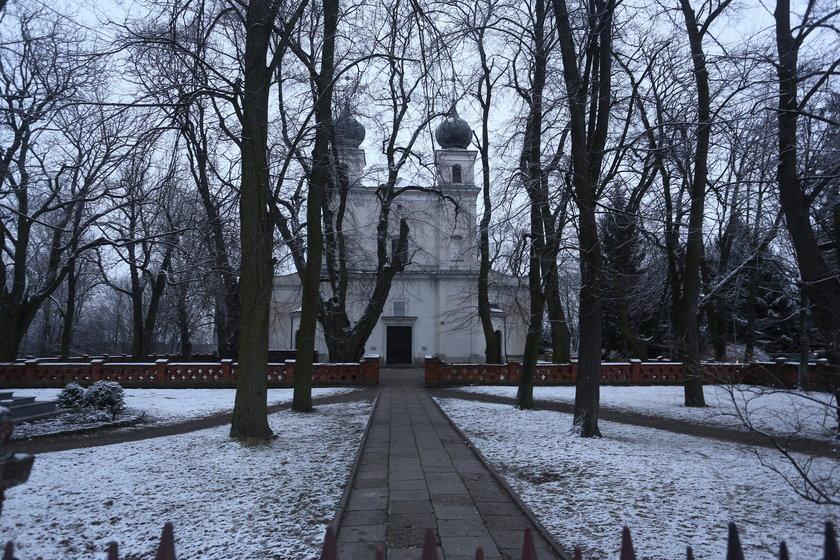 Kościół w którym pobrali się Joanna Koroniewska i Maciej Dowbor