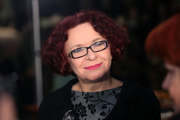 """Posłanka PiS, była przewodnicząca KRRiT Elżbieta Kruk podczas Ogólnopolskiej Konferencji nt. rozwoju mediów publicznych pt. """"Powstań Polsko"""""""