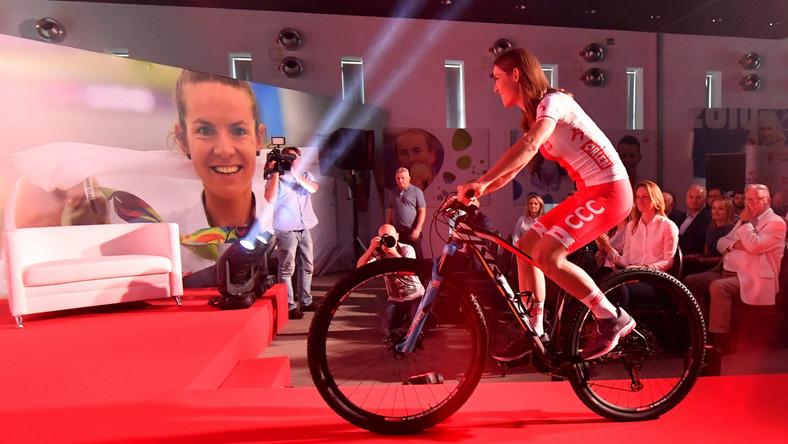 Wicemistrzyni olimpijska w kolarstwie górskim - Maja Włoszczowska