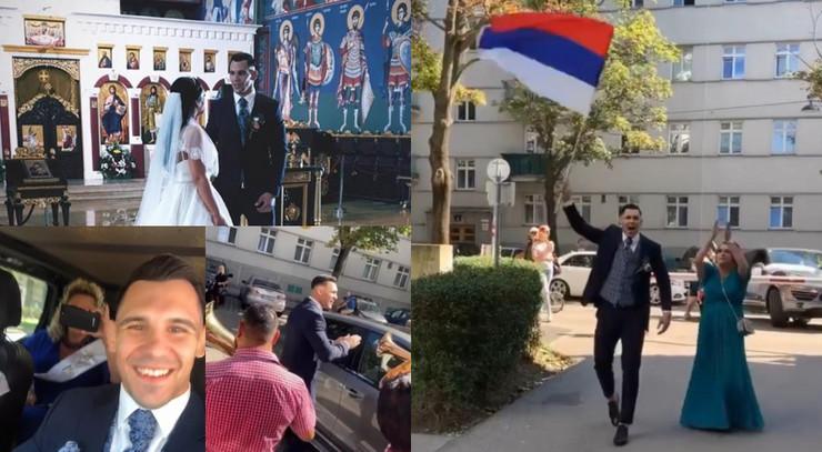 Oženio se Aleksandar Rakić