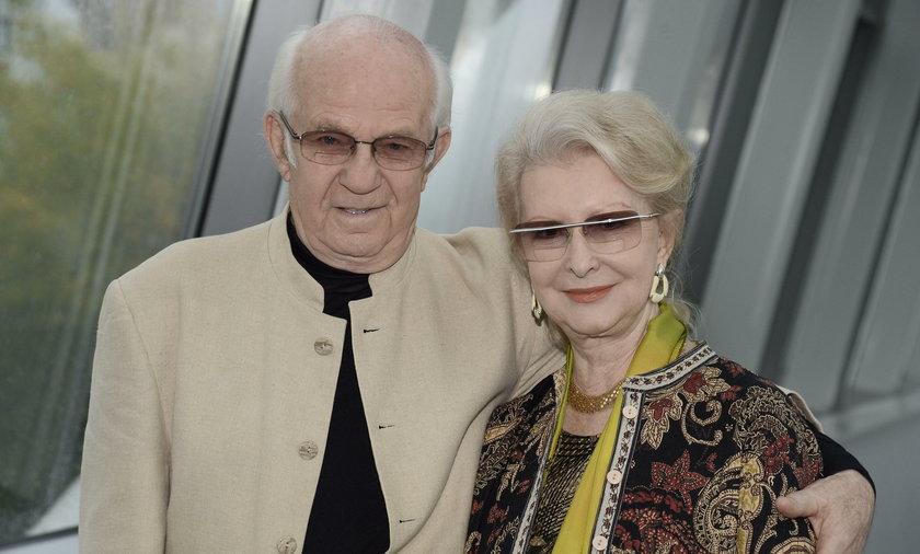 Jerzy Antczak i Jadwiga Barańska