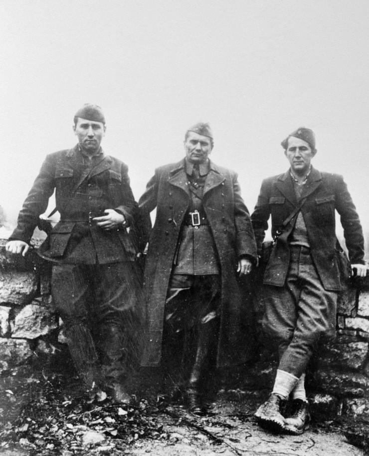 Ranković, Tito i Đilas