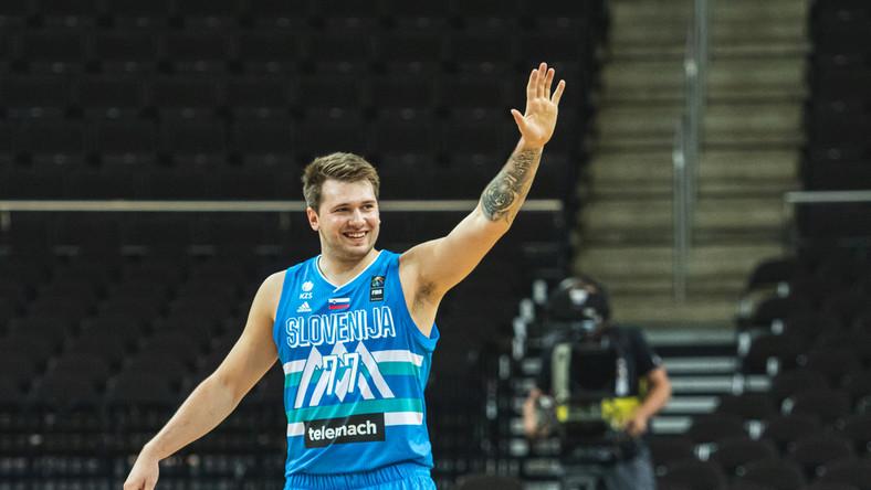 Luka Doncic w barwach reprezentacji Słowenii