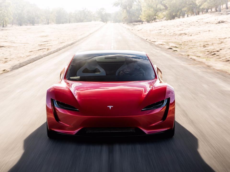 Podstawowa cena Tesli Roadster to 200 tys. dol.