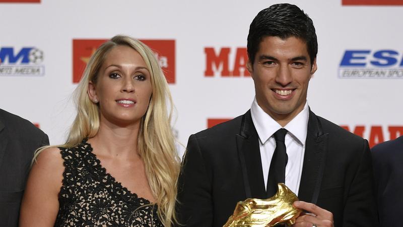Luis Suarez i Sofia Balbi