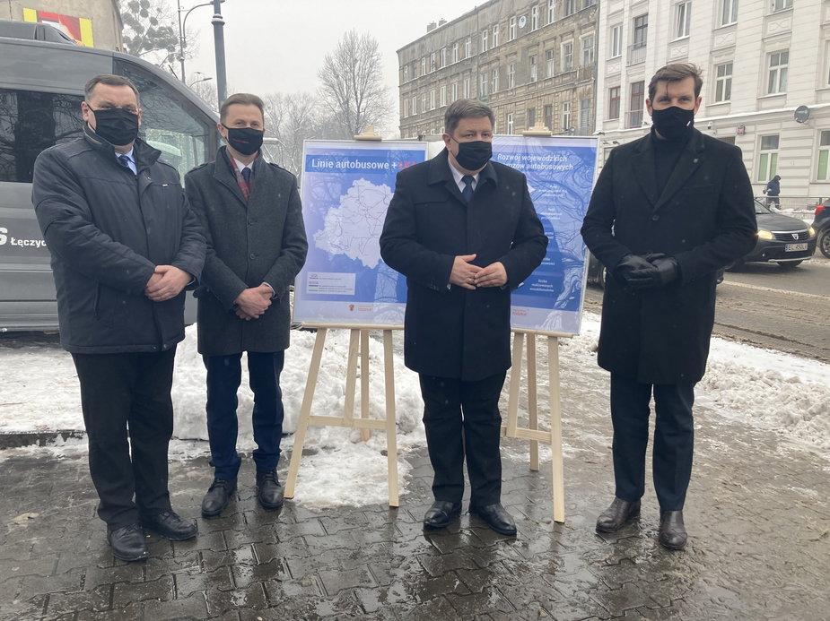 Na mapie województwa łódzkiego pojawiły się trzy nowe połączenia autobusowe