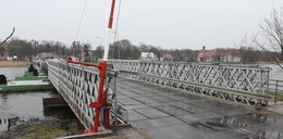 Most w Sobieszewie znowu nieczynny!
