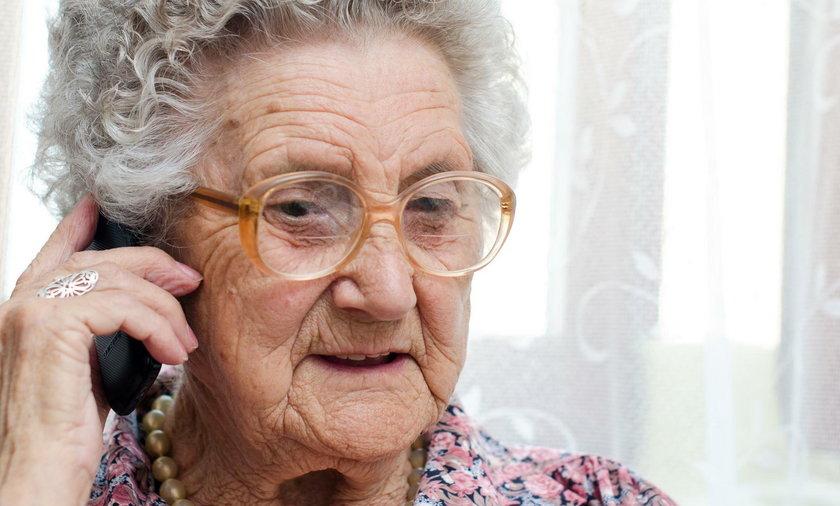 Starsza pani straciła fortunę