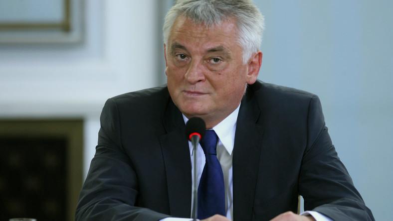 Były minister sportu Mirosław Drzewiecki