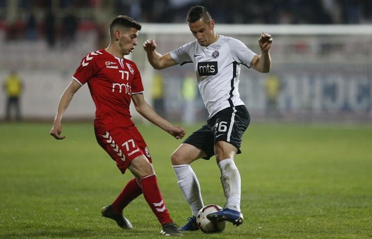 FK Radnički, FK Partizan