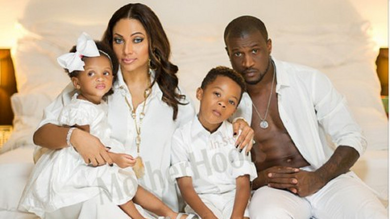 Image result for photos of peter okoye and family