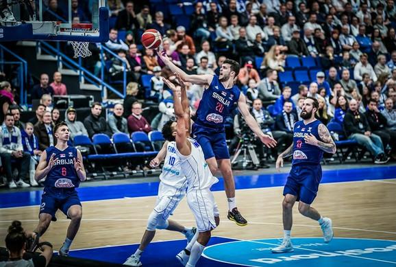 Dejan Todorović na meču Finska - Srbija