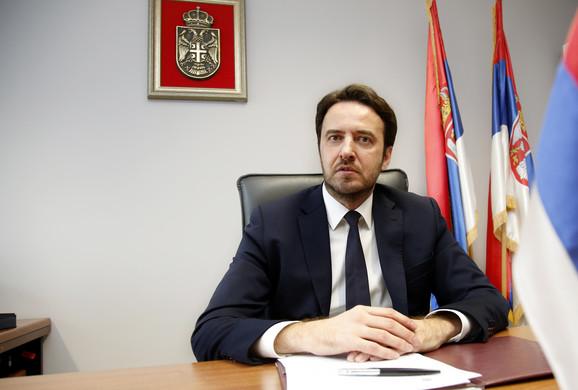 Predsednik Višeg suda u Beogradu sudija Aleksandar Stepanović