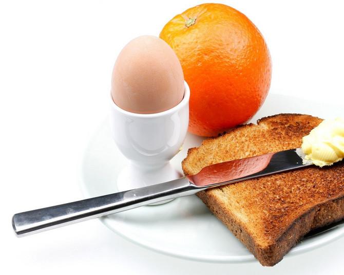 Doručak je uvek isti