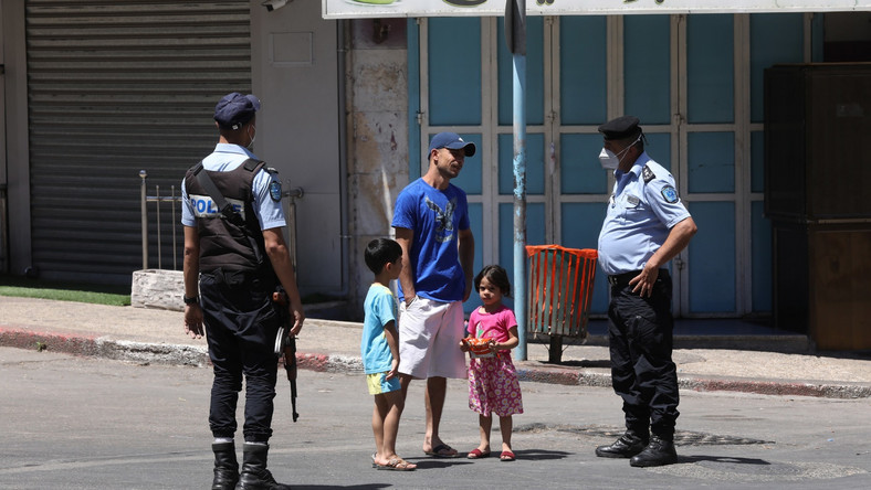 Palestyńska policja