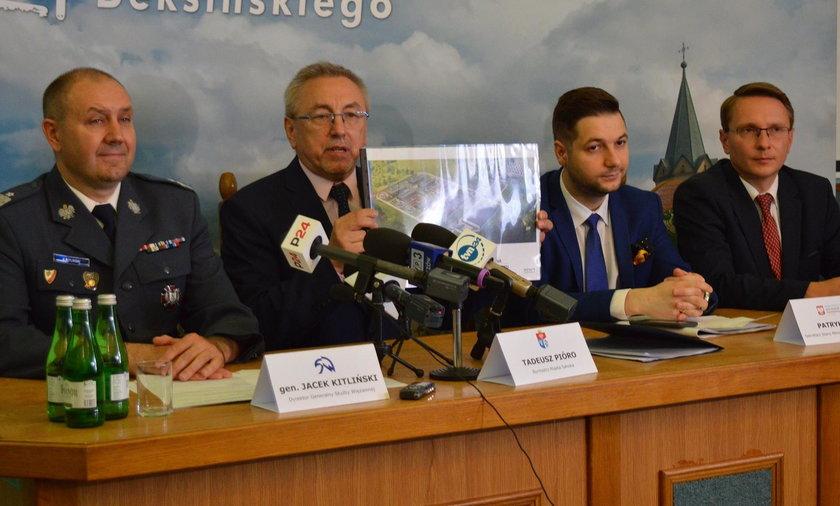 Powstanie zakład karny na obrzeżach Sanoka