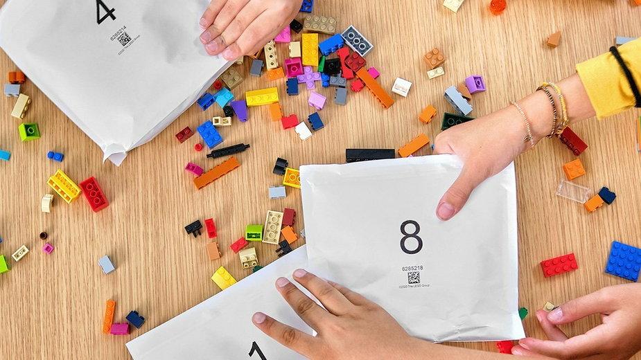 LEGO rezygnuje z plastikowych opakowań