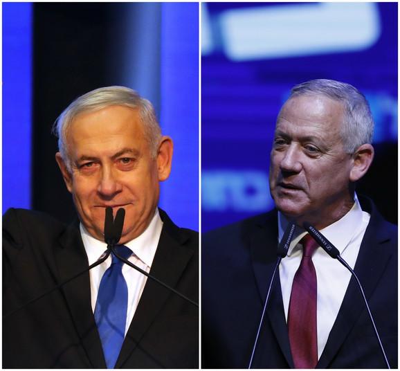 Netanjahu vs. Ganc