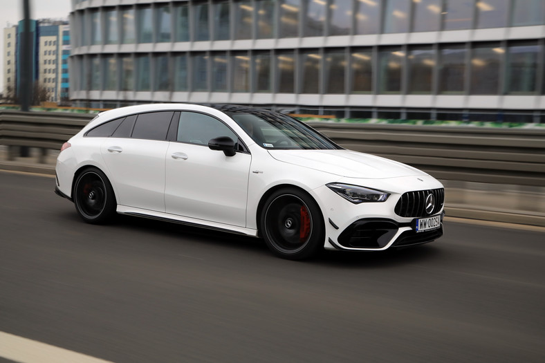 Mercedes-AMG CLA 45 S 4MATIC Shooting Brake