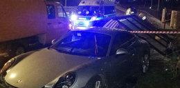 Straszny wypadek w Gdańsku. Porsche wjechało w przystanek!