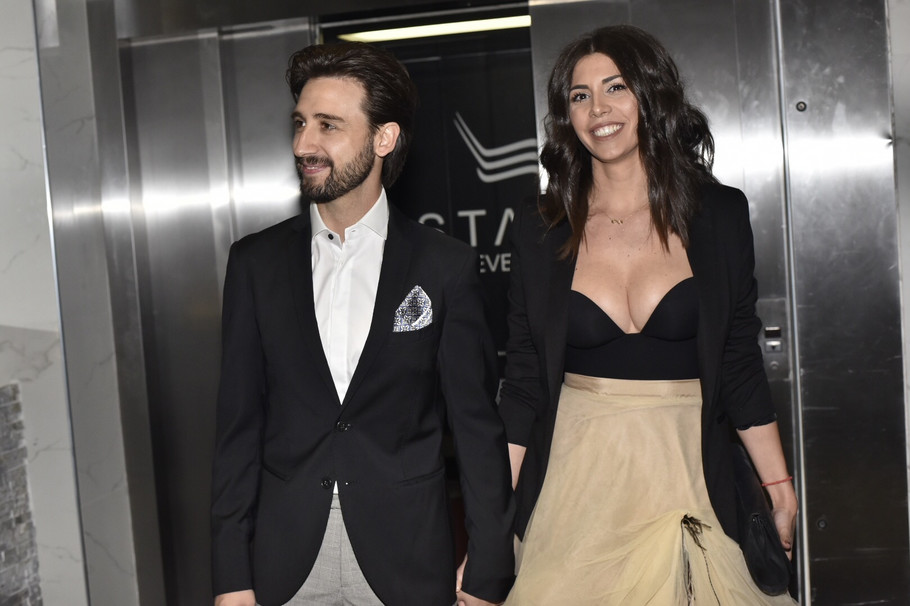 Stevan Anđelković sa suprugom