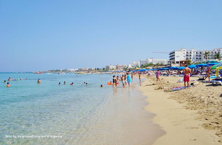 Kipar Protaras plaža