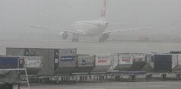Chaos na lotniskach. Samoloty nie mogły lądować