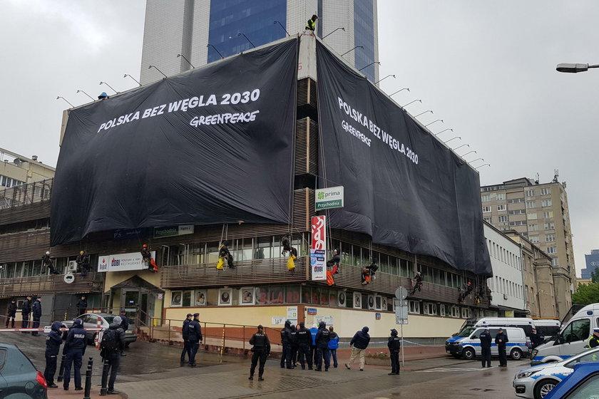 Aktywiści Greenpeace wzywają polski rząd do ogłoszenia planu odejścia od węgla do 2030 roku