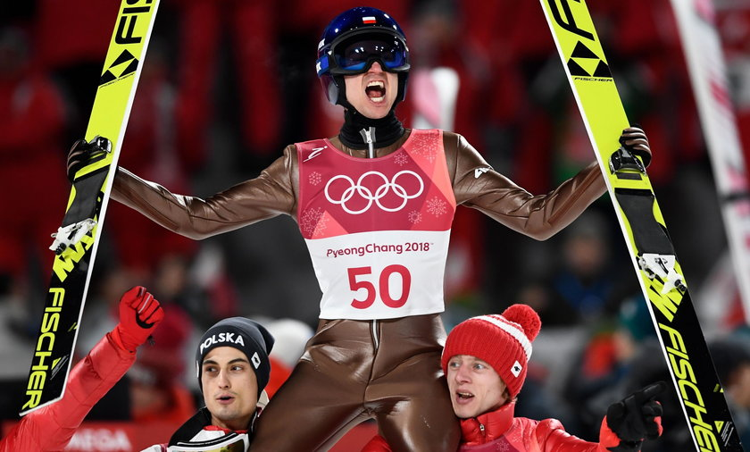 Kamil Stoch mistrzem olimpijskim
