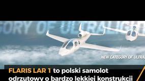 Flaris Lar 1 - polski samolot udrzutowy na miarę XXI wieku