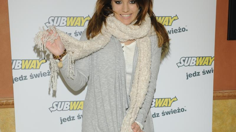 Ewa Farna w restauracji Subway