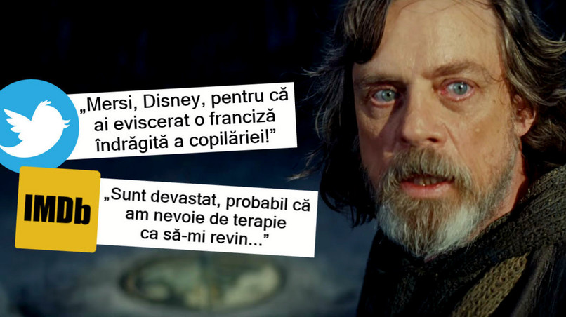 "Reacții online după ""The Last Jedi"""
