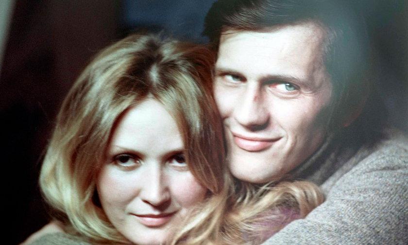 Jan Englert i Barbara Soltysik